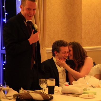 Delivering the best best man speech ever