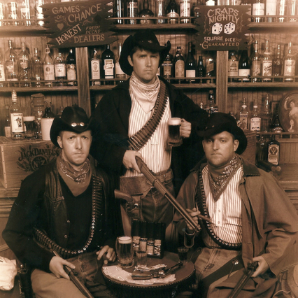 Eoin, Jack and Billy - western style. the boardwalk, Ocean city, Maryland