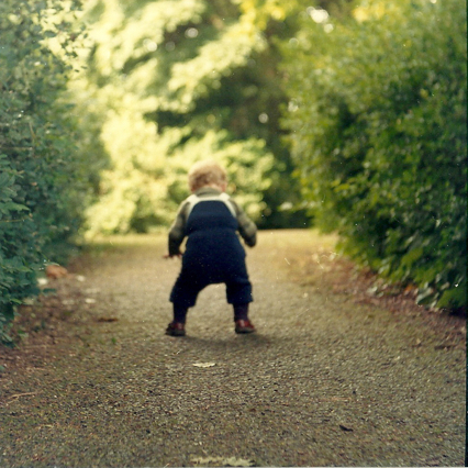 First Steps in Bushy Park, circa May 1981